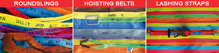 GeRon - Round Slings - Hoisting Belts - Lashing Belts